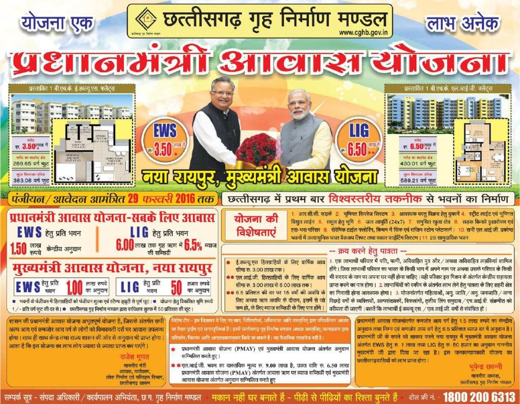 Awas Yojana in Chhattisgarh