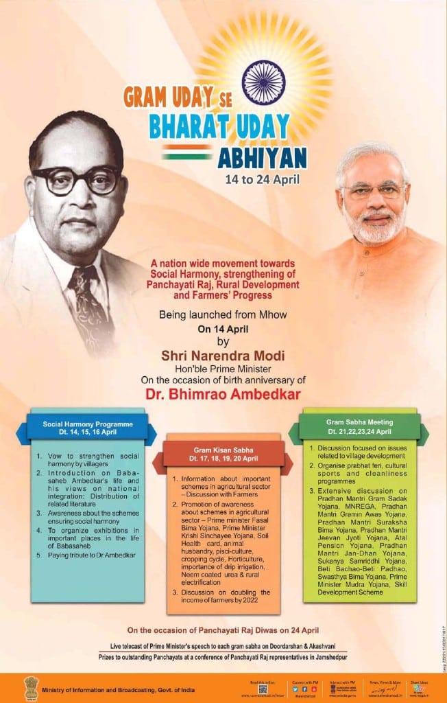 Gram Uday Se Bharat Uday Abhiyan Advertisement