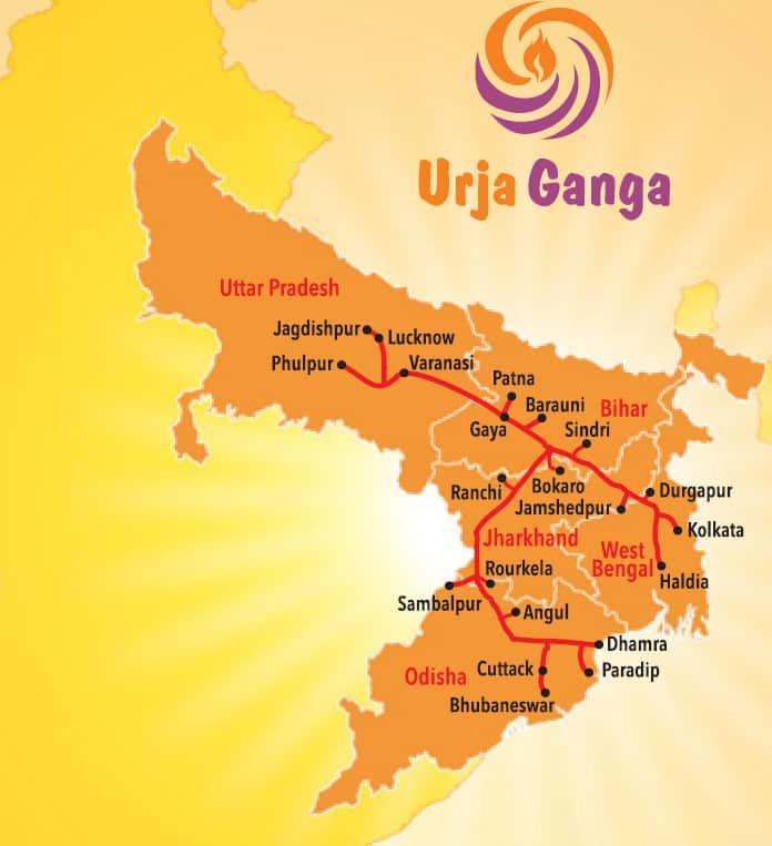 Urja Ganga Gas Pipeline Project