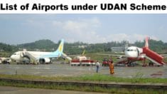 RCS Udan Scheme Airports List 2021 – Check Udey Desh Ka Aam Nagrik Yojana Operationalized Airports