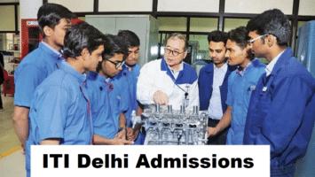 ITI Delhi Admissions Apply Online