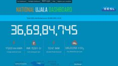 Check EESL UJALA LED Bulb / Fan / Tubelight Dashboard at ujala.gov.in