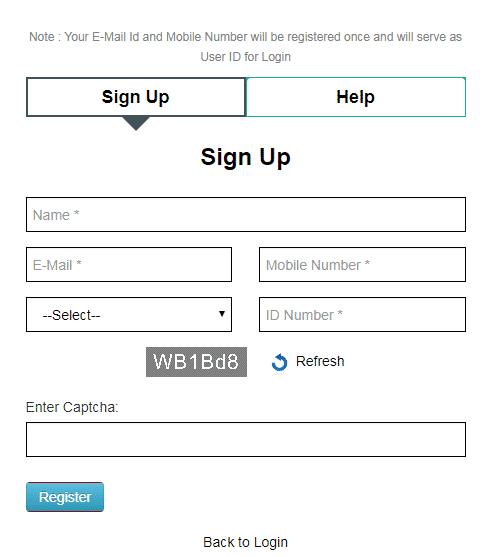Digital Police Portal Signup