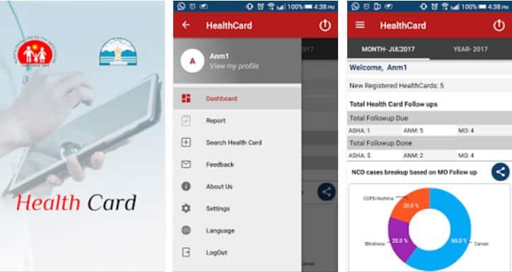 Health Card HP App