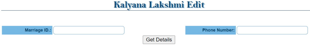 Kalyana Lakshmi Pathakam Edit Uploads