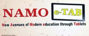 NAMO E-Tablets for First Year College Students at Rs. 1,000 by Gujarat Government
