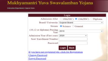 Gujarat Mukhyamantri Yuva Swavalamban Yojana MYSY Scholarship Apply