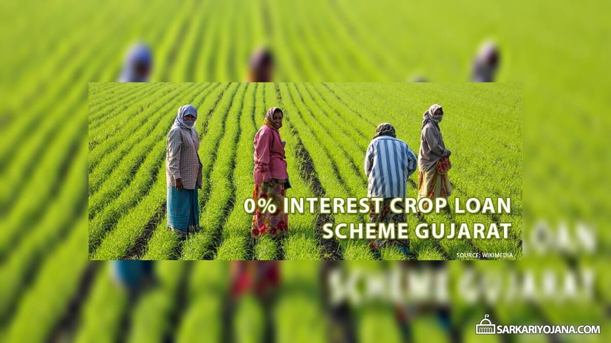 Zero Interest Crop Loan Scheme Gujarat