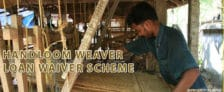Handloom Weavers Loan Waiver Scheme