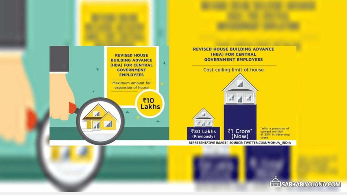 House Building Advance Scheme Central Govt Employees