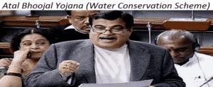 Atal Bhoojal Yojana – Water Conservation Scheme by Narendra Modi Govt.