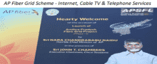 Fiber Grid Scheme – Internet, Cable TV & Telephone Connections @ Rs. 149 in AP