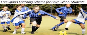 Free Sports Coaching Scheme
