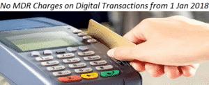 No MDR Charges On Debit Card, UPI, Aadhar Digital Transactions by Central Govt.