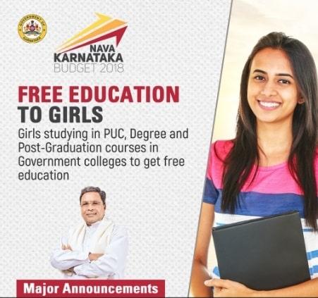 Karnataka Budget 2018-19 Education