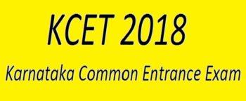Karnataka CET 2018 KCET Exam