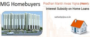MIG Homebuyers – Rs. 2.5 lakh Interest Subsidy on Home Loans under PMAY (Urban)