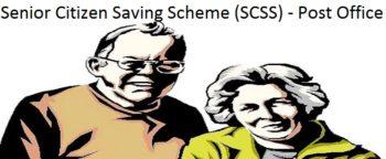 Post Office Senior Citizen Saving Scheme SCSS
