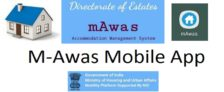 m-Awas App Allotment General Pool Residential Accommodation