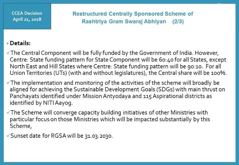 Restructured RGSA