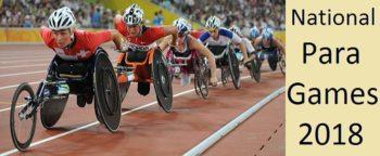 First National Para Games 2018