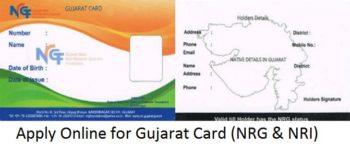NRG Gujarat Card Online Application Form