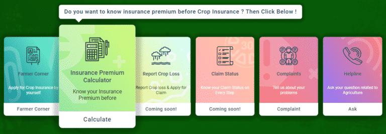 PMFBY Agri Insurance Premium Calculator