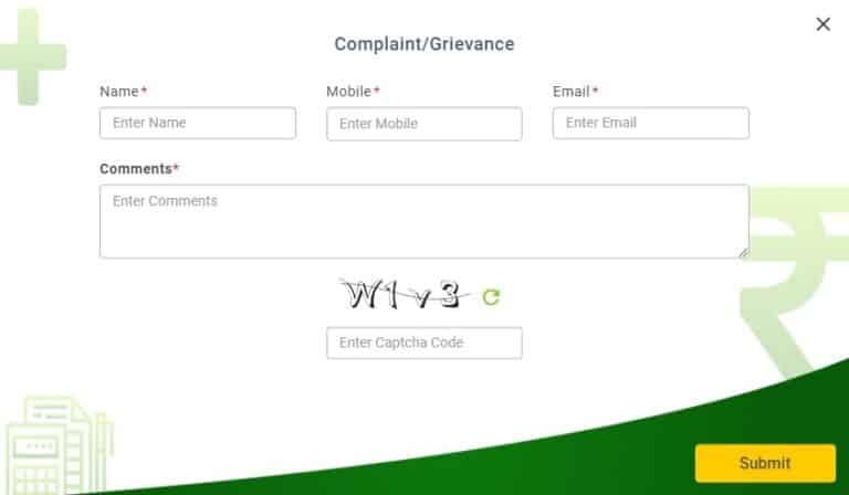 PMFBY Kharif 2018 Complaint Registration