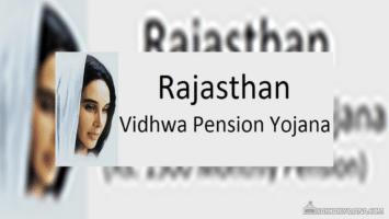Rajasthan Vidhwa Pension Yojana Form Status List