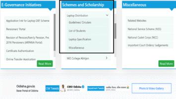 SSEPD BYSY Odisha Free Laptop Distribution Schemes