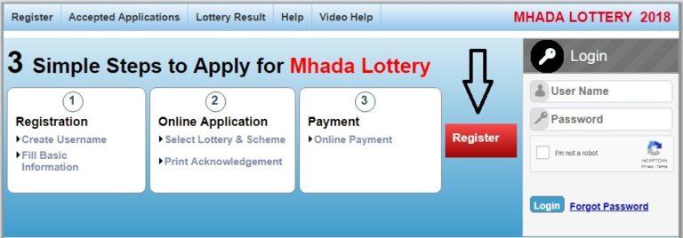 MHADA Konkan Lottery 2018 Application