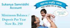 Sukanya Samriddhi Yojana Minimum Deposit Per Year