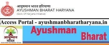 Ayushman Bharat Haryana Portal Health Protection