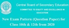 CBSE New Exam Pattern Class 10 12