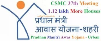 CSMC 37 Meeting Pradhan Mantri Awas Yojana PMAY Urban