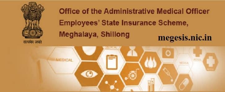 Employees State Insurance ESI Scheme Portal Meghalaya