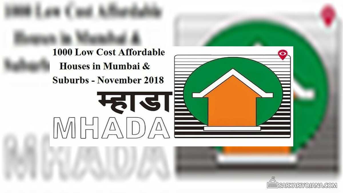 MHADA Lottery 2018 November Mumbai