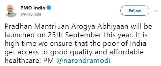Pradhan Mantri Jan Aarogya Abhiyaan