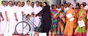 Tamilnadu Free Bicycle Scheme 2018-19 for ITI & Govt. / Aided School Students