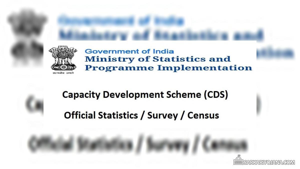 Capacity Development Scheme MoSPI Statistics Survey