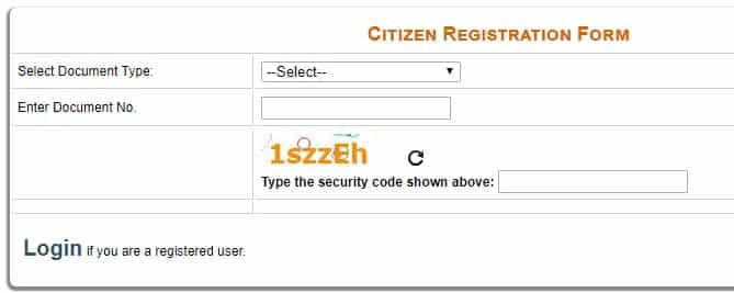 Delhi Fees Assistance Scheme Registration Form