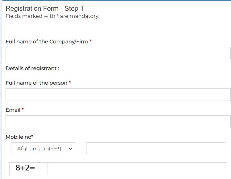 esahaj security clearance portal online registration form