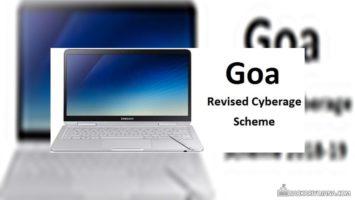 Goa Revised Cyberage Student Scheme Details