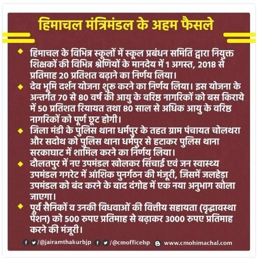 HP Dev Bhumi Darshan Yojana