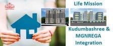 Kerala Life Mission Kudumbashree MGNREGA Integration