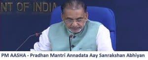 PM AASHA – Pradhan Mantri Annadata Aay Sanrakshan Abhiyan Details