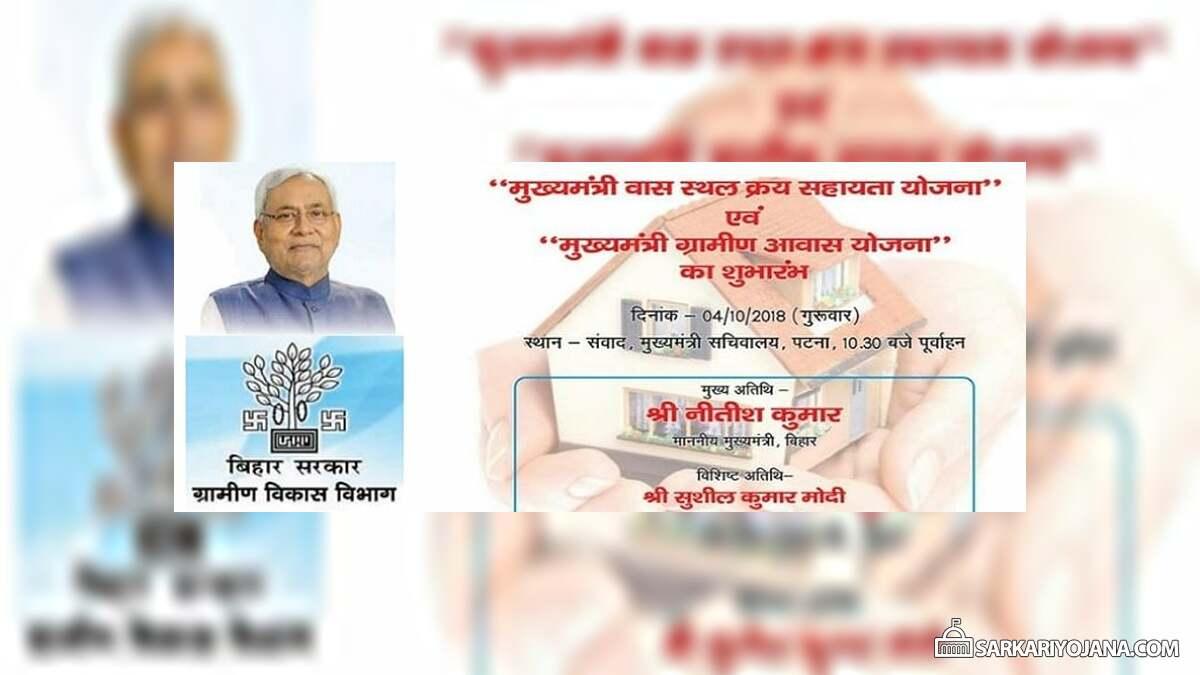 Mukhymantri Vaas Sthal Kray Sahayata Yojana
