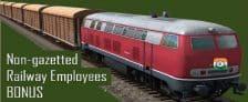 Non Gazetted Railway Employees Bonus