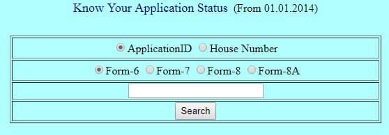 Telangana Voter ID Status Check
