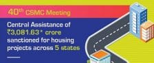 CSMC 40th Meeting Pradhan Mantri Awas Yojana Urban